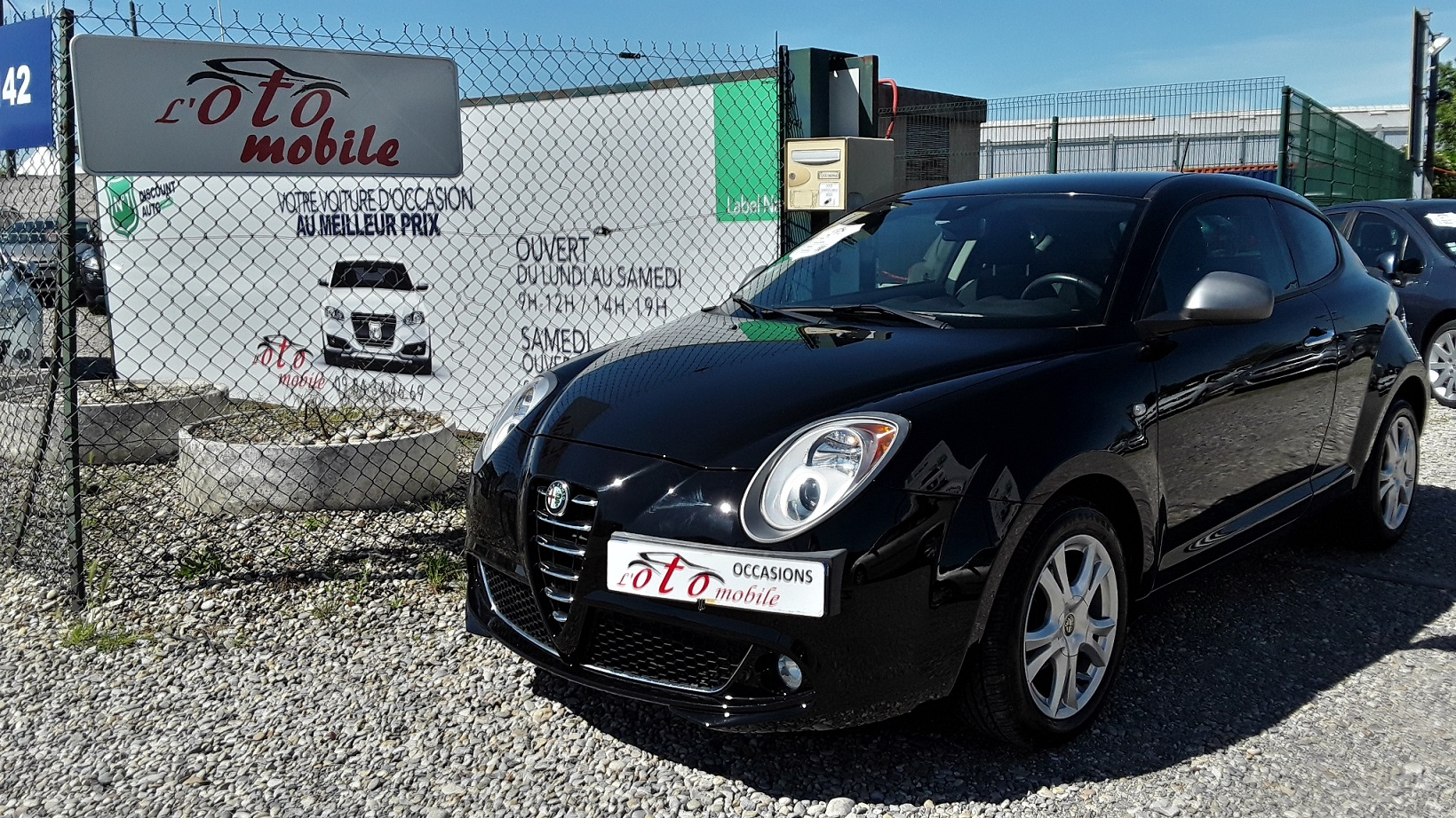 voiture alfa romeo mito 1 4 mpi multiair 105 distinctive occasion essence 2011 43550 km. Black Bedroom Furniture Sets. Home Design Ideas