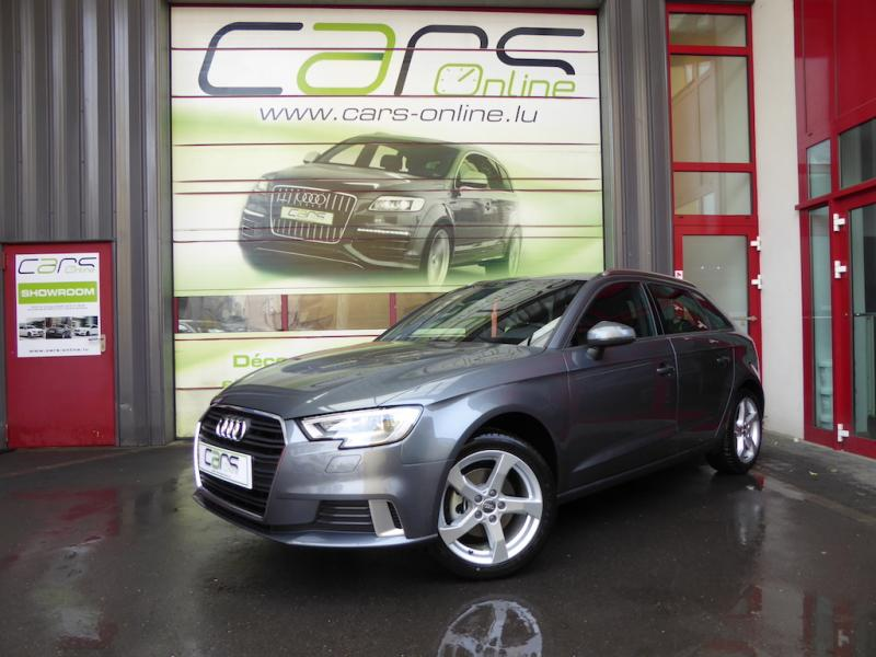 voiture audi a3 sportback 1 6 tdi 110 sport occasion diesel 2017 10 km 24890 metz. Black Bedroom Furniture Sets. Home Design Ideas