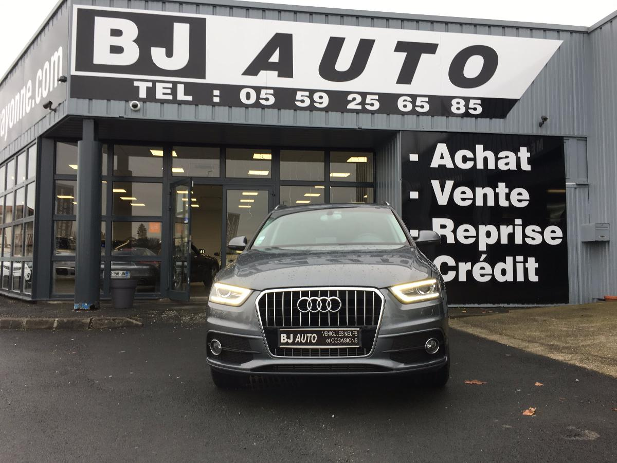 Audi Q3 2.0 TDI 140 CH Ambition Luxe 2013