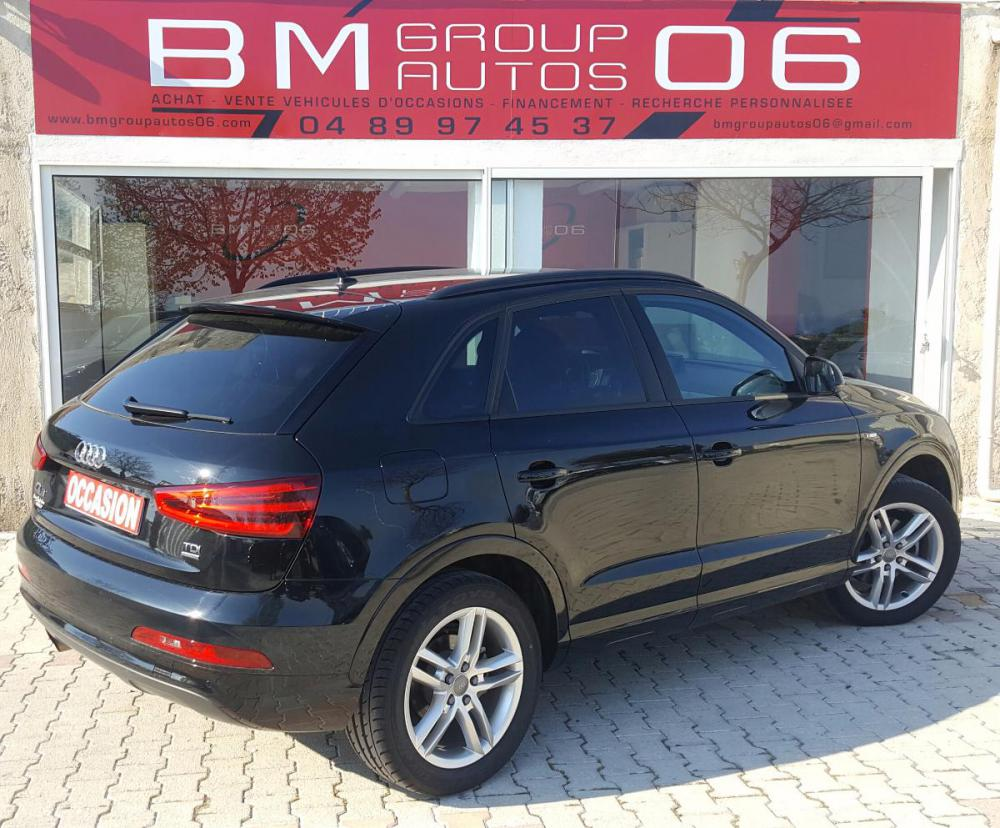 voiture diesel audi q3 d 39 occasion nice moins de 50000 km 28900 euros. Black Bedroom Furniture Sets. Home Design Ideas