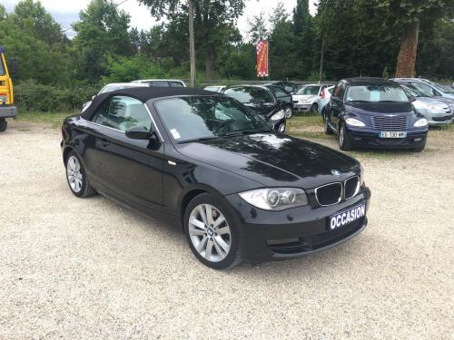 BMW SERIE 1 123d 204 ch Luxe cabriolet