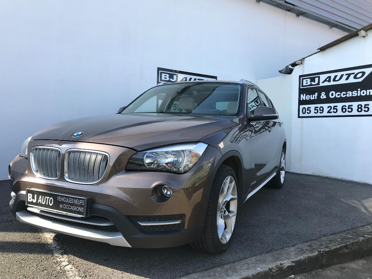 bmw x1 xdrive20d xline bva8 2014 bj auto bayonne et peyrehorade. Black Bedroom Furniture Sets. Home Design Ideas