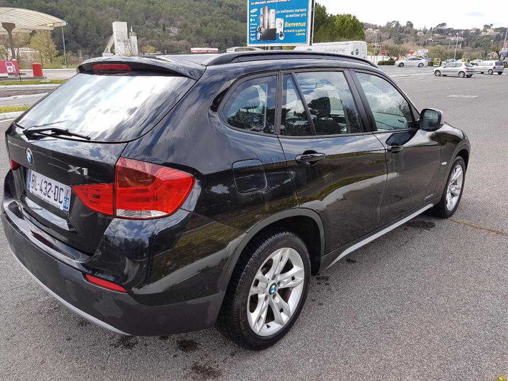voiture diesel bmw x1 d 39 occasion draguignan moins de 137000 km 13000 euros. Black Bedroom Furniture Sets. Home Design Ideas