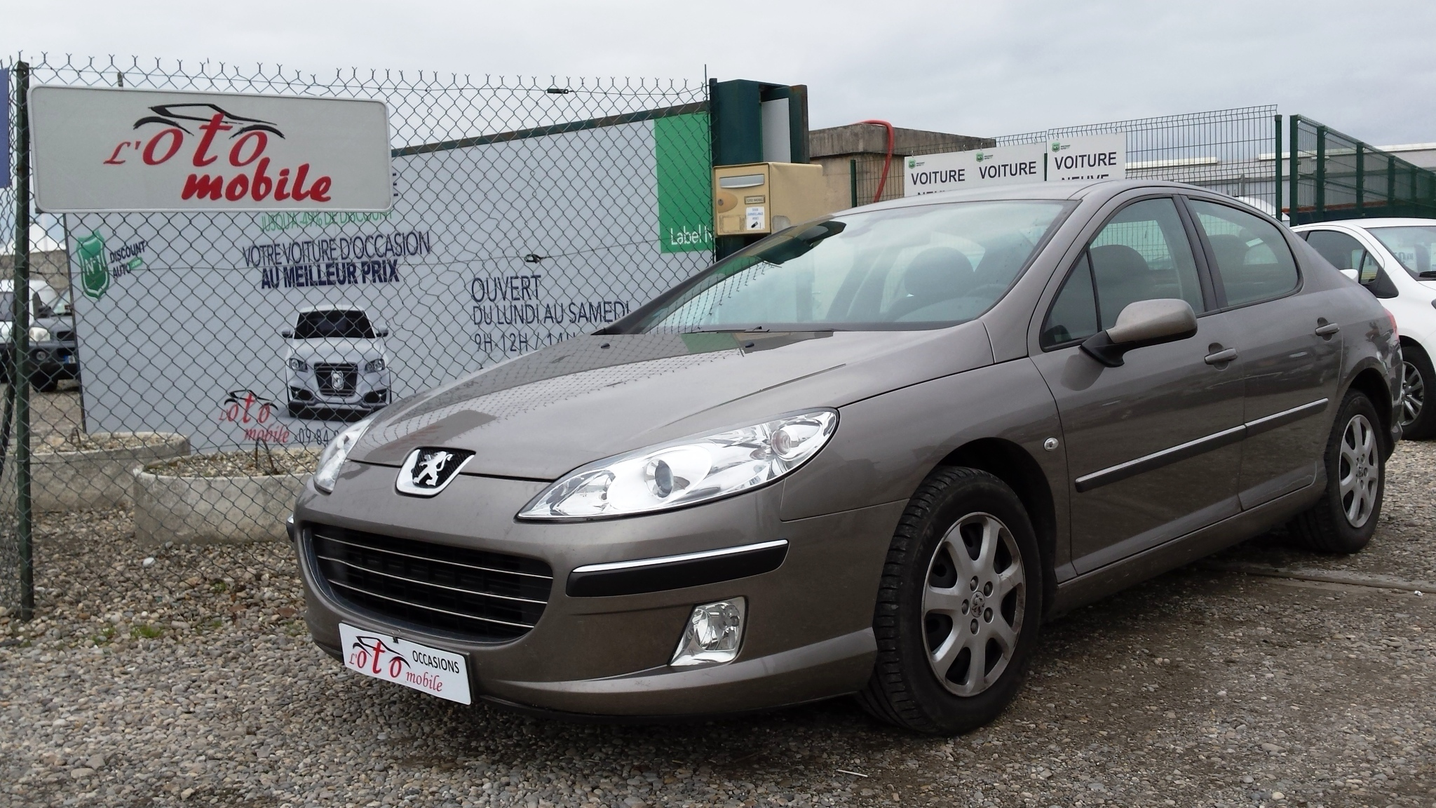 voiture peugeot 407 executive 1 6 hdi 16v 110 fap 1 main occasion diesel 2006 121500 km. Black Bedroom Furniture Sets. Home Design Ideas