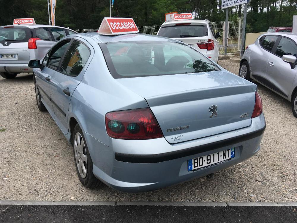 voiture diesel peugeot 407 d 39 occasion parempuyre moins de 213000 km 2000 euros. Black Bedroom Furniture Sets. Home Design Ideas