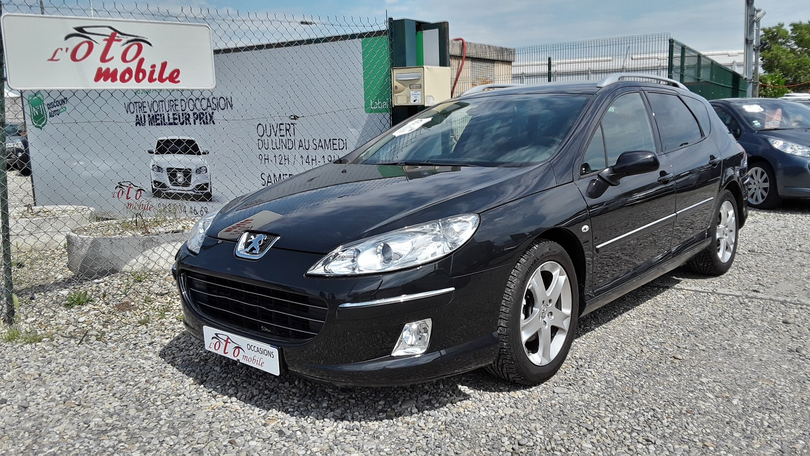 voiture peugeot 407 sw griffe 2 0 hdi 16v 136 gps xenon occasion diesel 2006 166800 km. Black Bedroom Furniture Sets. Home Design Ideas