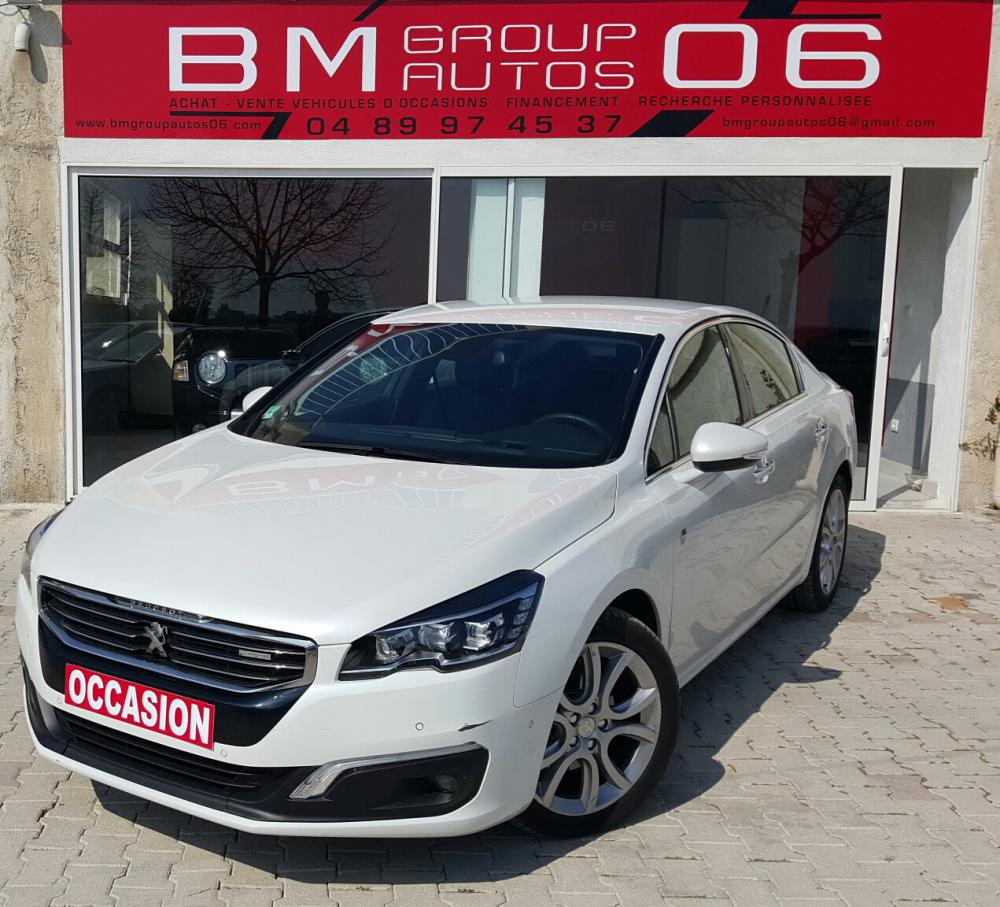 voiture diesel peugeot 508 hybrid d 39 occasion nice moins de 9000 km 21500 euros. Black Bedroom Furniture Sets. Home Design Ideas