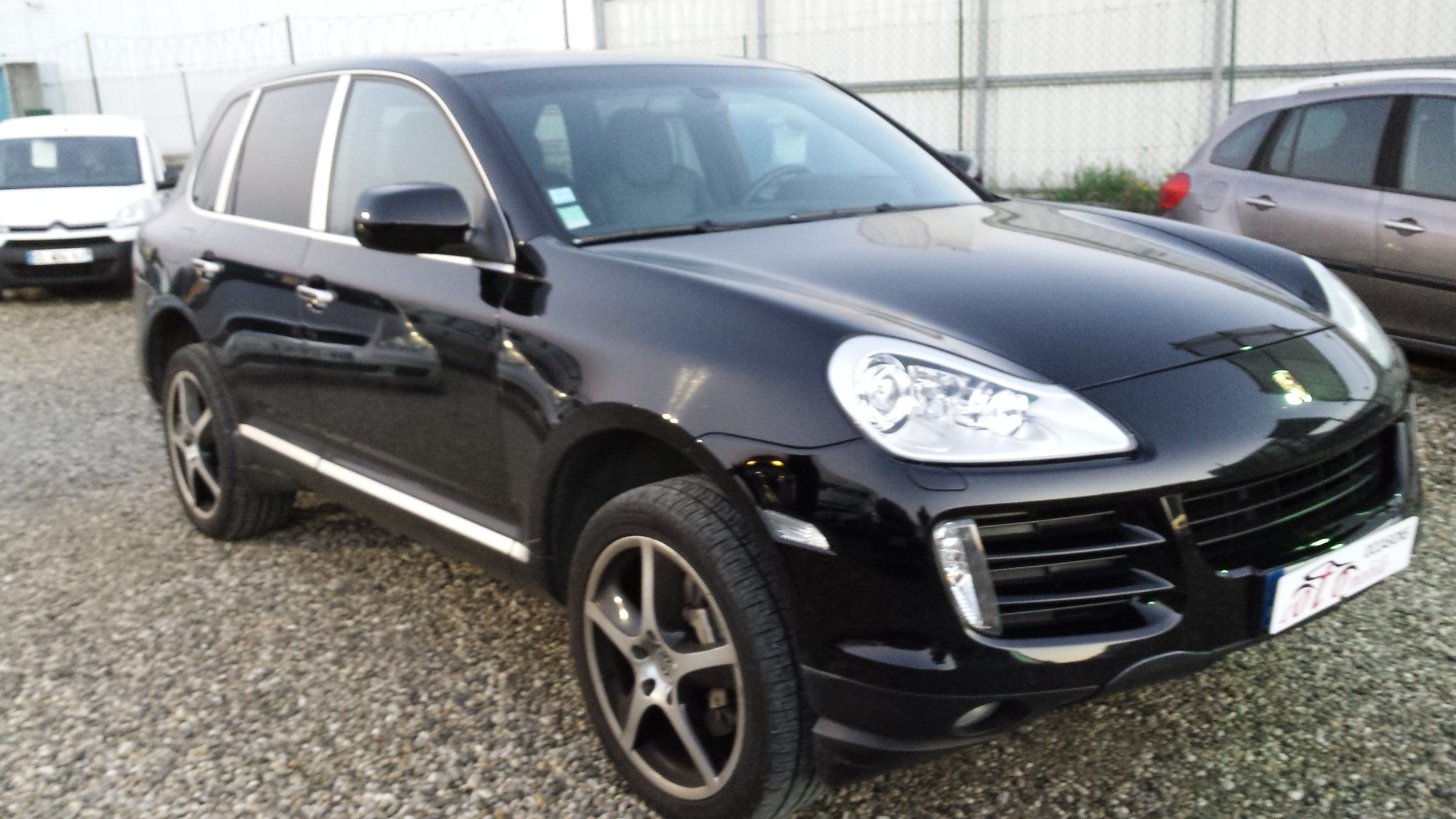 voiture porsche cayenne 4 8 v8 tiptronic 385cv occasion. Black Bedroom Furniture Sets. Home Design Ideas