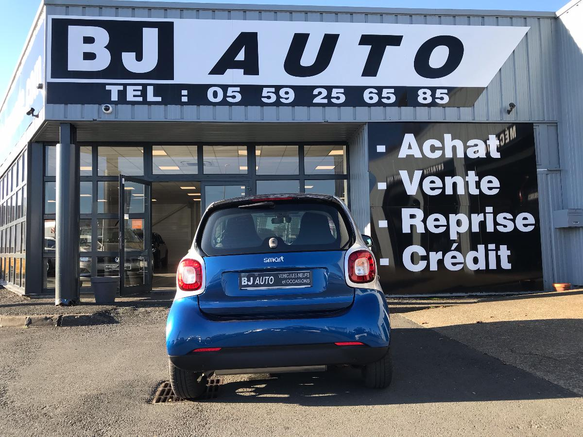 smart FORTWO COUPE  1.0 71 CH S&S BA6 Passion 2016