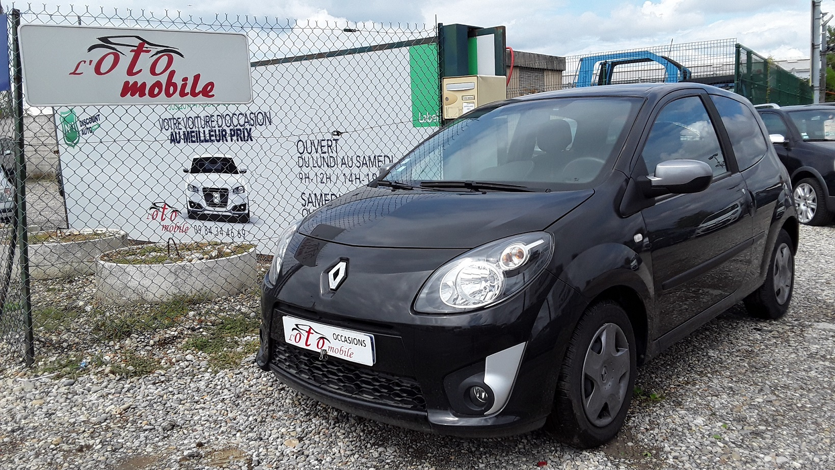 voiture renault twingo ii 1 5 dci 75 authentique 51050kms occasion diesel 2011 50000 km. Black Bedroom Furniture Sets. Home Design Ideas