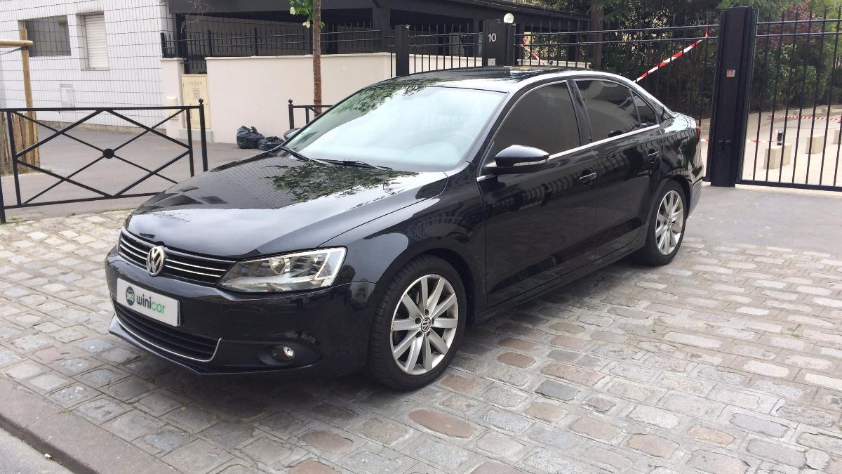 voiture volkswagen jetta 2 0 tdi 140 carat occasion diesel 2011 121500 km 10700. Black Bedroom Furniture Sets. Home Design Ideas