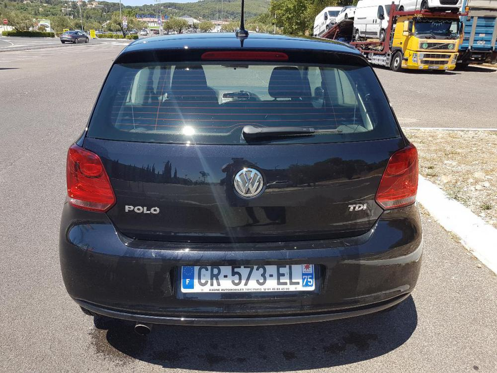 voiture diesel volkswagen polo d 39 occasion draguignan moins de 75000 km 8499 euros. Black Bedroom Furniture Sets. Home Design Ideas