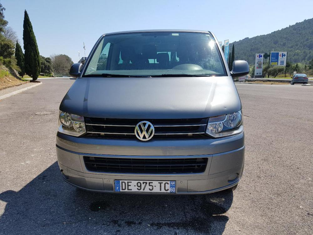 voiture diesel volkswagen caravelle 2l tdi 140 d 39 occasion draguignan moins de 105000 km. Black Bedroom Furniture Sets. Home Design Ideas